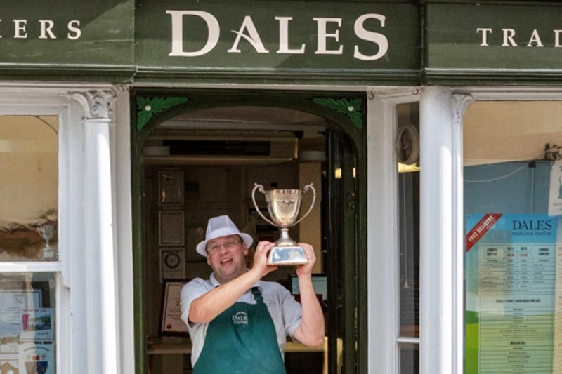 The local butcher that`s cutting it with a string of industry awards