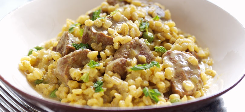 Lamb and Barley Risotto