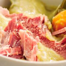 Ham And Peas Pudding Broth