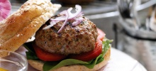 Red Thai Lamb Burgers
