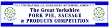 Great Yorkshire Pork Pie, Sausage, Black Pudding and Beefburger Competition