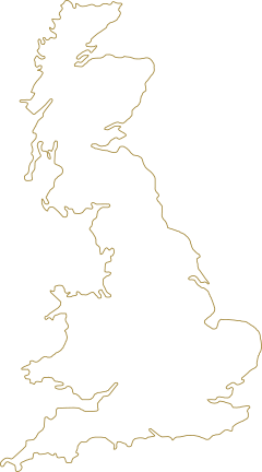 outline of the uk
